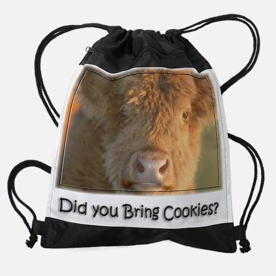 Bring Cookies Drawstring Bag