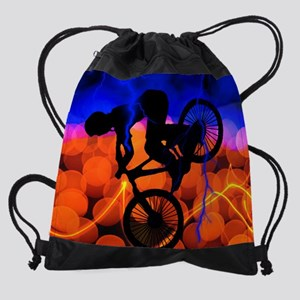 BMX Light Crystals and Lightning KI Drawstring Bag