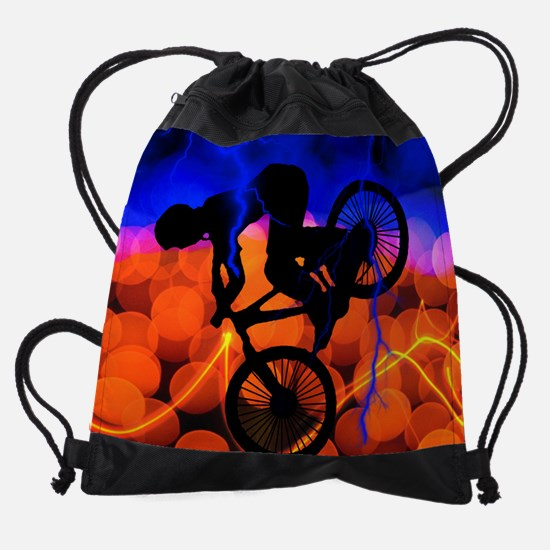 BMX Light Crystals and Lightning KI Drawstring Bag