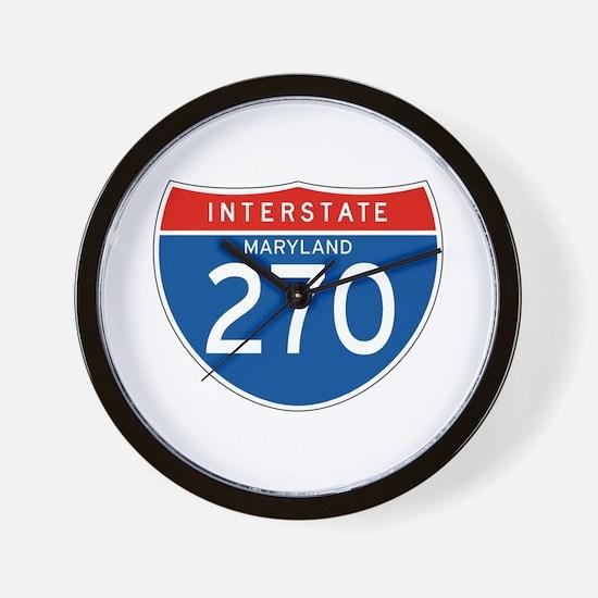 Interstate 270 - MD Wall Clock