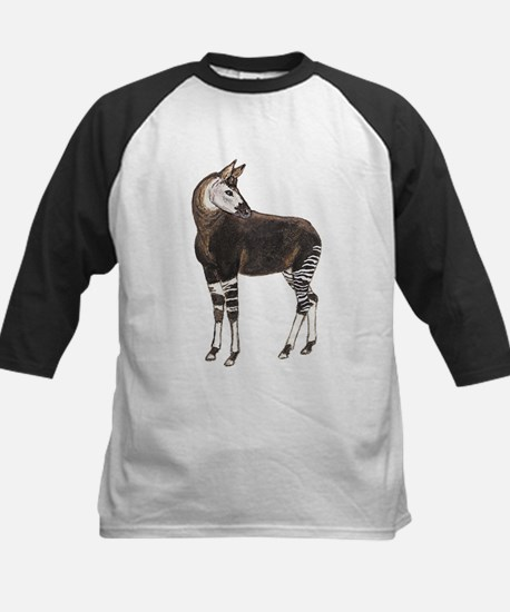 Okapi (Front only) Kids Baseball Jersey