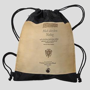 Much_Ado_11x9 Drawstring Bag