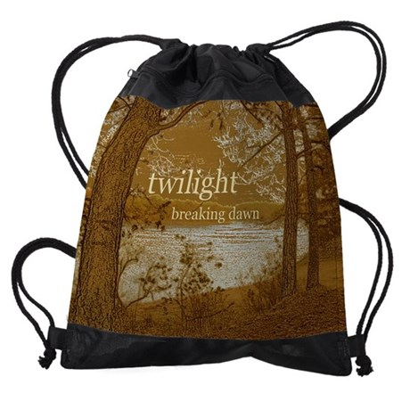 TWILIGHT BREAKING DAWN DRAWSTRING BAG