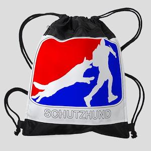 schutzhundoutline Drawstring Bag