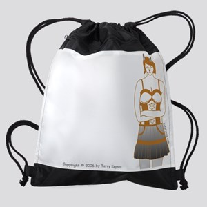 dont_care_t Drawstring Bag