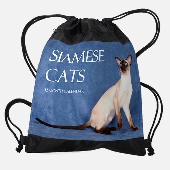siameseshowcatscover.png Drawstring Bag