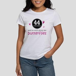 44th Anniversary Butterflies Women's T-Shirt