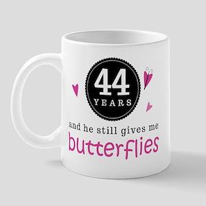44th Anniversary Butterflies Mug