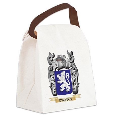 D'Adamo Coat of Arms - Family Canvas Lunch Bag