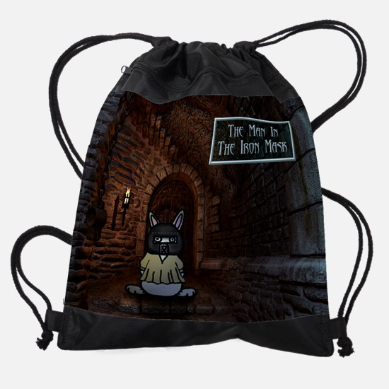ironmaskfinal.PNG Drawstring Bag