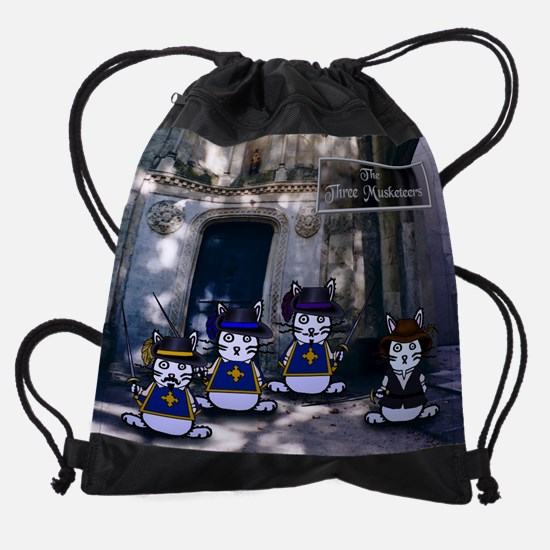 musketeersfinal.PNG Drawstring Bag