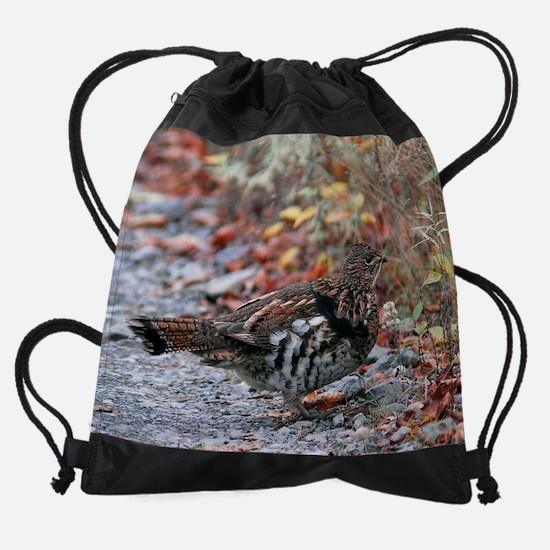November.png Drawstring Bag