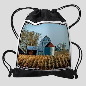 02--Barn-CutCorn Drawstring Bag