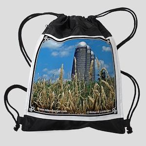 07-Barn-Silos3-InWeeds-30Jun04 Drawstring Bag