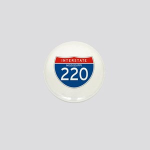 Interstate 220 - MS Mini Button