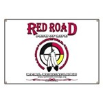 RED ROAD PATH OF LIFE Banner