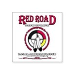 Red Road Path Of Life Sticker