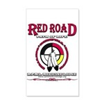Red Road Path Of Life 20x12 Wall Decal