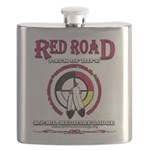 RED ROAD PATH OF LIFE Flask