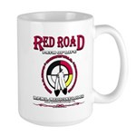 RED ROAD PATH OF LIFE Mugs
