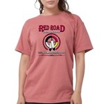 RED ROAD PATH OF LIFE Womens Comfort Colors Shirt