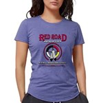 RED ROAD PATH OF LIFE Womens Tri-blend T-Shirt