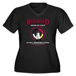 RED ROAD PATH OF LIFE Plus Size T-Shirt