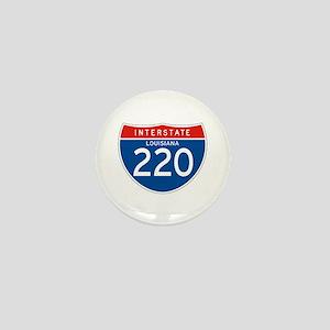 Interstate 220 - LA Mini Button