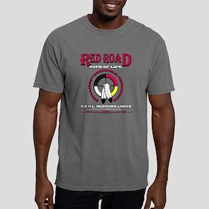 RED ROAD PATH OF LIFE Mens Comfort Colors Shirt