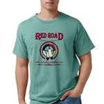 RED ROAD PATH OF LIFE Mens Comfort Colors Shirt