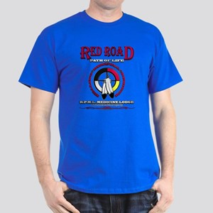 Red Road Path Of Life T-Shirt