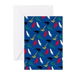 Windsurfing Greeting Cards (Pk of 20)