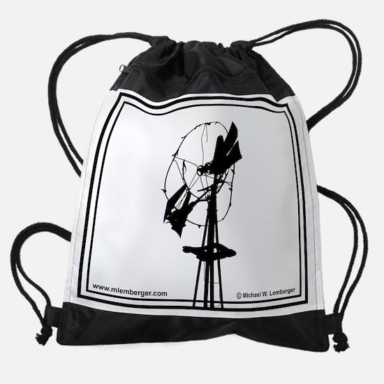02-Windmill broken.jpg Drawstring Bag