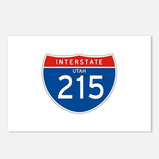 Interstate 215 - UT Postcards (Package of 8)