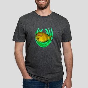 THE REEF DWELLER Mens Tri-blend T-Shirt