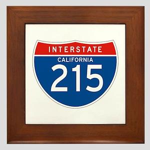 Interstate 215 - CA Framed Tile