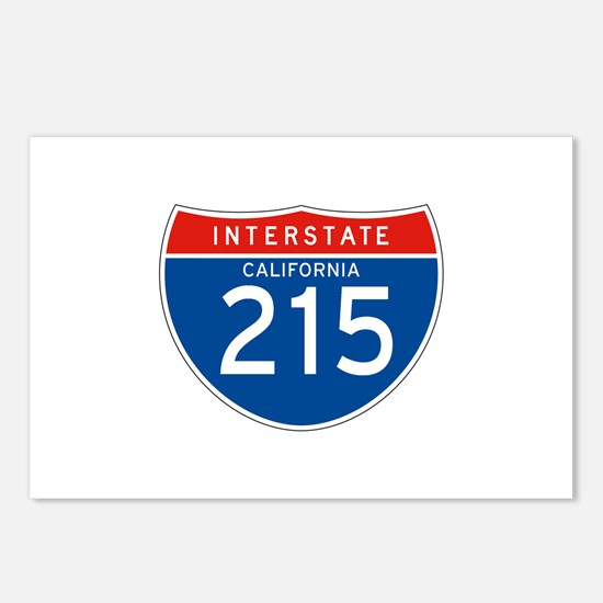 Interstate 215 - CA Postcards (Package of 8)