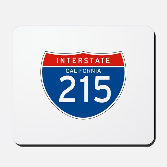 Interstate 215 - CA Mousepad