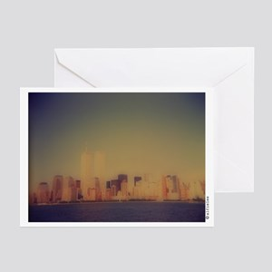 """Manhattan Skyline"" Greeting Cards (Pk of 10)"