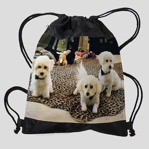 BLACK TIE TRIO CALENDAR Drawstring Bag