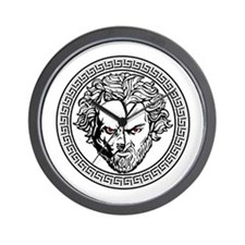 New Arlovski Logo White Wall Clock
