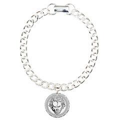 New Arlovski Logo White Bracelet