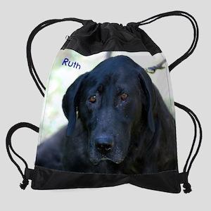 RuthReg Drawstring Bag