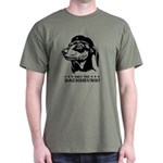 Obey The Dachshund! Icon Dark Tee T-Shirt