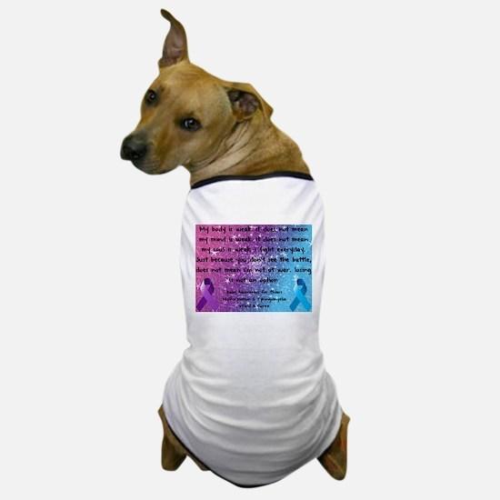 Chiari Syringo Awareness Dog T-Shirt