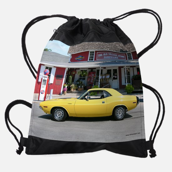 11.5x9_Mopar_march.png Drawstring Bag
