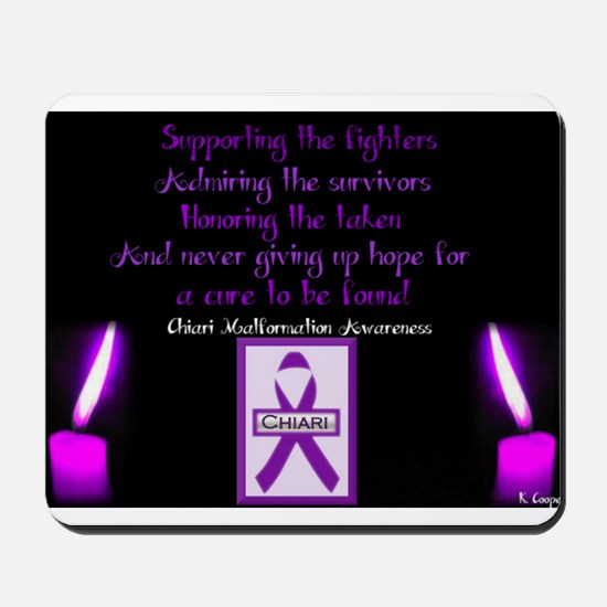 Chiari/Syringomyelia Awareness Mousepad