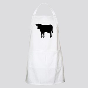 Black cow Apron