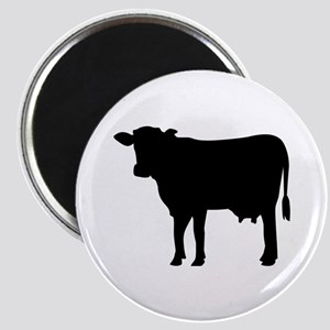 Black cow Magnet