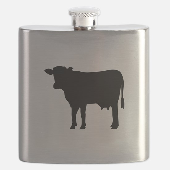 Black cow Flask